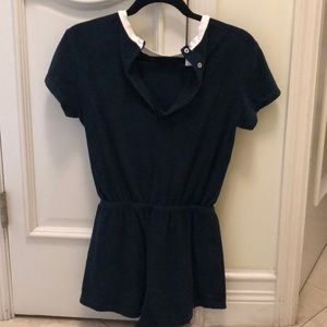French terry American apparel romper